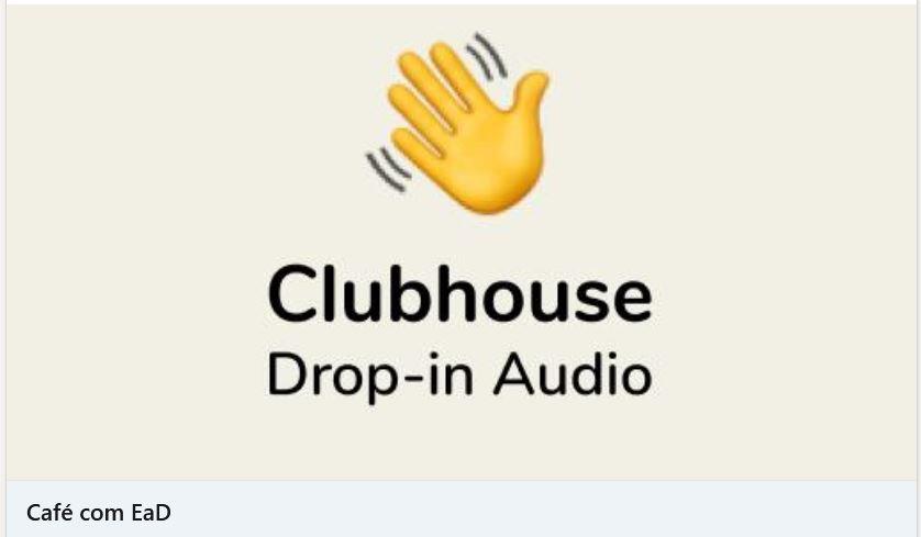 Clubhouse: inovando ou copiando?
