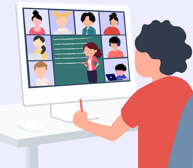 Desafios da aula online
